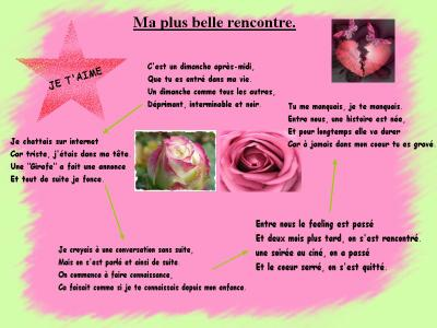 rencontre poeme